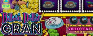 Billion Dollar Gran Online Casino Pelilogo